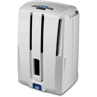 DeLonghi DD70PE 70-pint Dehumidifier with Patented Pump - White