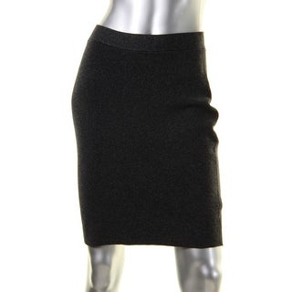 Eileen Fisher Womens Petites Pencil Skirt Knit Pull On - ps/pp