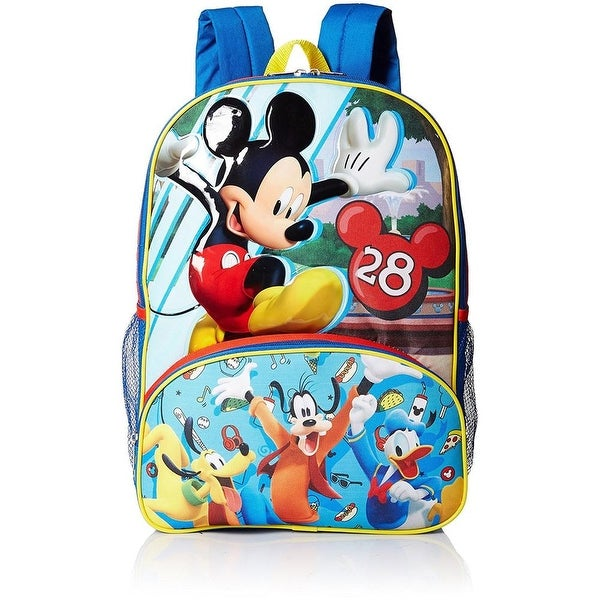 6cb073ce66f Shop Disney Boys Mickey Mouse Backpack - Free Shipping On Orders Over  45 -  Overstock - 18616410