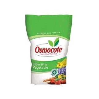 Osmocote 277960 Flower & Vegetable Smart Release Plant Food, 8 Lbs