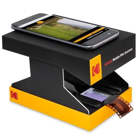 KODAK Mobile Film Scanner  Scan & Save Old 35mm Film & Slides w/ a Smartphone Camera , Collapsible Scanner w/Built-in Light