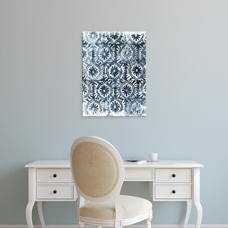 Easy Art Prints June Erica Vess's 'Indigo Extraction I' Premium Canvas Art