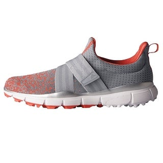 New Adidas Women's Climacool Knit Light Onix/Clear Onix/Easy Coral Golf Shoes F33545