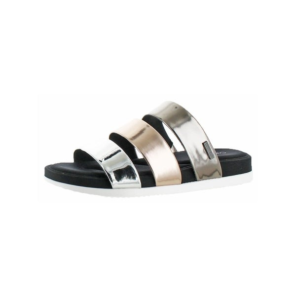 Calvin Klein Womens Dalana Slide Sandals Open Toe Memory Foam