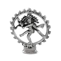 Sterling Silver Dancing Shiva Pendant