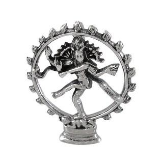 Sterling Silver Dancing Shiva Pendant