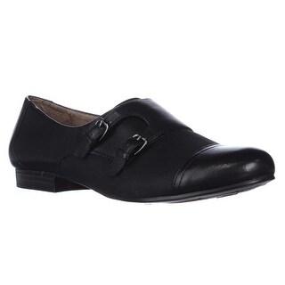naturalizer Learner Sleek Oxford Flats - Black