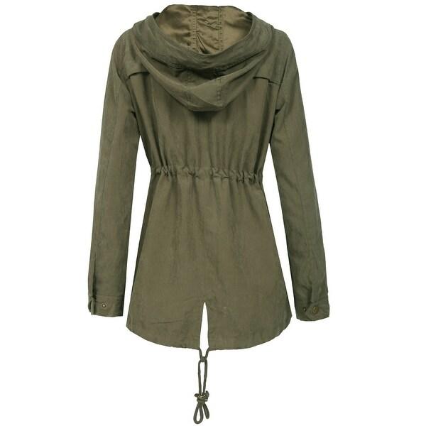 NE PEOPLE Womens Military Anorak Jacket [NEWJ2048] - Free Shipping ...