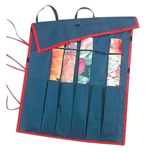 Blue Bag For Holding Rolled Flag