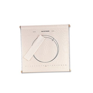 """HIC 43106 Pastry Cloth Frame, Collapsible, 20"""" x 20"""""""