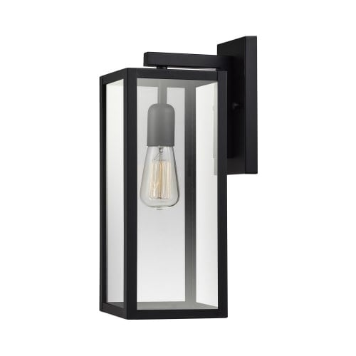 Globe Electric 44176 Hurley Single Light 16 Tall Outdoor Wall Sconce