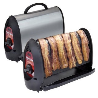 "The Bacon Master - Easy Clean Nonstick Vertical Bacon Cooker - 12.5"" X 7.75"""