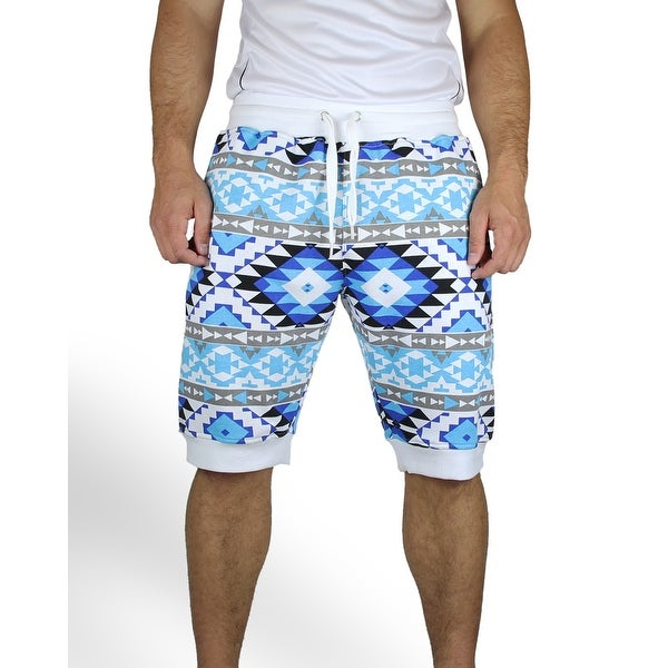 Shop Aztec Print Jogger Shorts Free Shipping On Orders