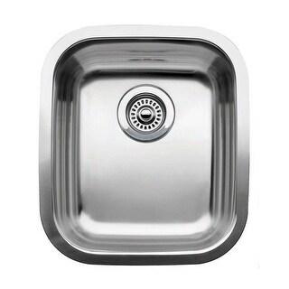 "Blanco 440247 Supreme Single Basin Stainless Steel Undermount Bar Sink 15 9/16"" x 17 3/4"""