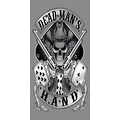 Beach Towel 30X60 Grim Reaper's Dead Man's Hand Pistols Outlaw Skull Pool Bath - Thumbnail 0