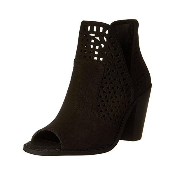 Jessica Simpson Womens Cherrell Booties Ankle Cut-Open