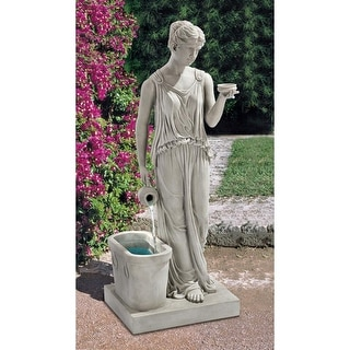 Design Toscano Hebe, Goddess Of Youth Garden Fountain