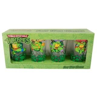 Teenage Mutant Ninja Turtle Pint Glass Set of 4 - Multi