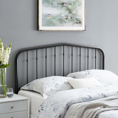 Lennon Queen Metal Headboard