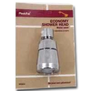 Plumb Pak PP825-3 Economy Water Saver Showerhead, Chrome Plated