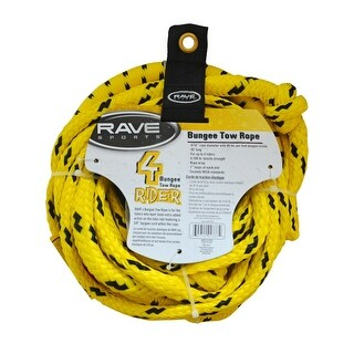 Rave Sports 50' Bungee 1-4 Rider Tow Rope