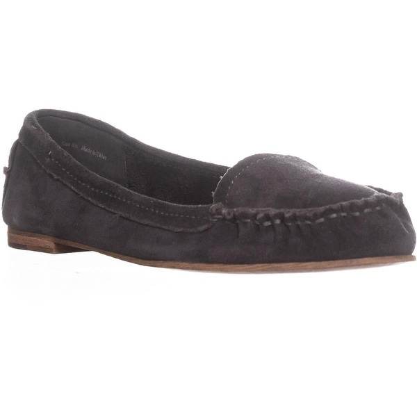Dolce Vita Poppy Slip On Loafers, Anthracite Suede - 8.5 us