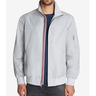 Weatherproof Gray Mens Size Large L Windbreaker Regatta Jacket