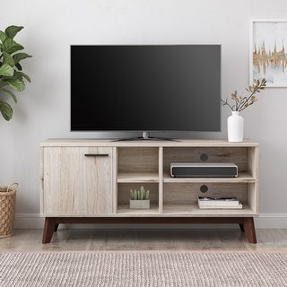 Link to Rattler Indoor  TV Stand with Storage by Christopher Knight Home Similar Items in TV Stands & Entertainment Centers
