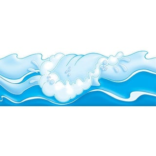 Ocean Waves Border Punch-Outs 12Ft