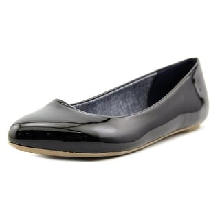 Dr. Scholl's Really Women W Pointed Toe Synthetic Black Flats