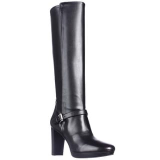 Nine West Kacie Knee-High Dress Boots - Black