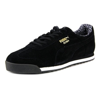 Puma Roma Suede Paisley Round Toe Suede Sneakers