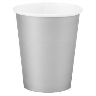 12oz Silver Paper Cups
