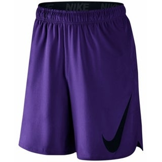 Nike NEW Purple Mens Size Medium M Hyperspeed Logo Athletic Shorts
