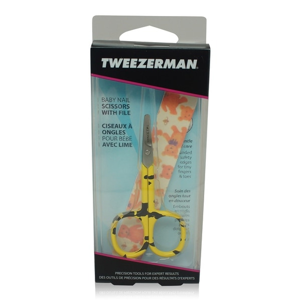 Tweezerman Baby Nail Scissors With File