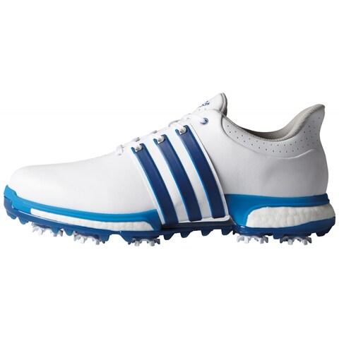 Adidas Men's Tour 360 Boost White/Eqt.Blue/Shock Blue Golf Shoes F33252 / F33264