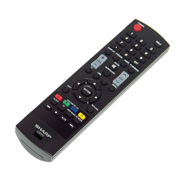NEW OEM Sharp Remote Control Originally Shipped With: LC55LE541U, LC65LE541U