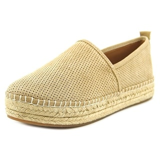 Steve Madden Peppa Women Round Toe Synthetic Tan Espadrille