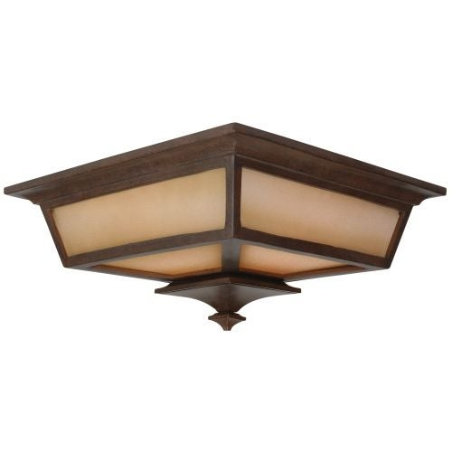 Craftmade Z1317 Argent 2 Light Flush Mount Ceiling Fixture
