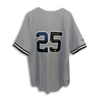Tommy John New York Yankees Autographed Gray Throwback Jersey Inscribed 81 AL Champs