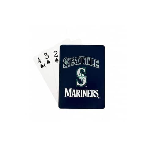 Seattle Mariners Playing Cards Diamond Plate