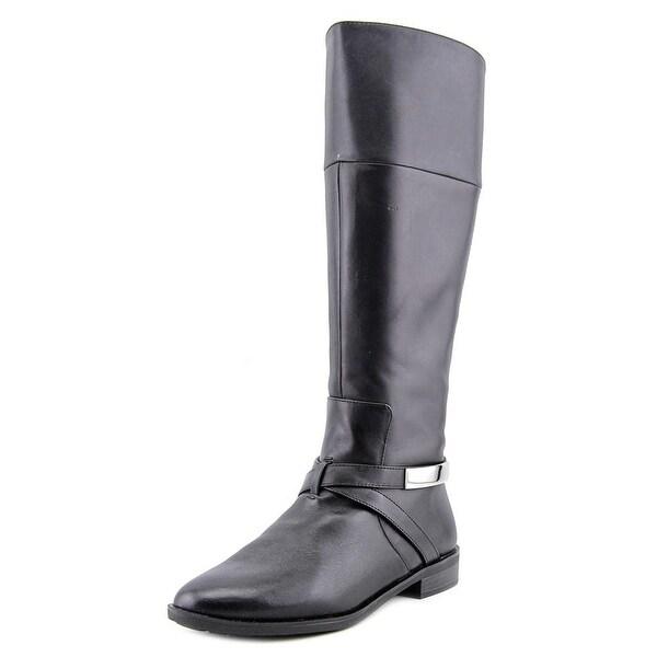 Alfani Egila Wide Calf Women Black Boots