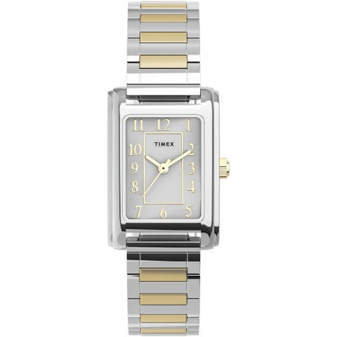 Timex Women's Meriden 21mm Watch - Two-Tone with Expansion Band - One Size - One Size