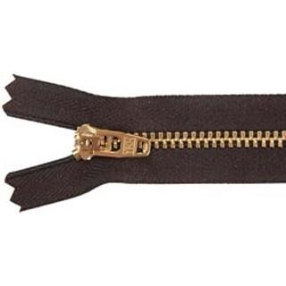 """Black - Jean Zipper 7"""""""
