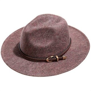 Mad Style Cocoa Panama Flannel Hat