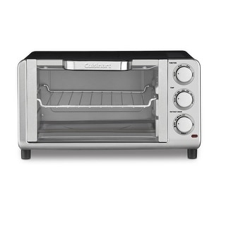 Cuisinart TOB-80FR Convection Toaster Oven Broiler, Silver (Certified Refurbished)