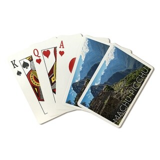 Machu Picchu, Peru Inca Ruins LP Photography (Poker Playing Cards Deck)