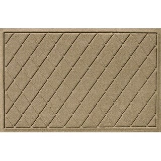 20377500023 Water Guard Argyle Mat in Camel - 2 ft. x 3 ft.