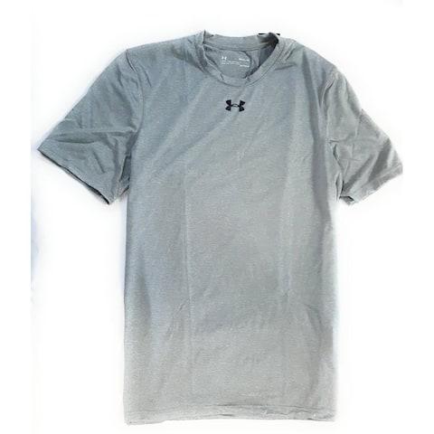 Under Armour Men's UA Locker 2.0 T-Shirt, Light Grey, Medium