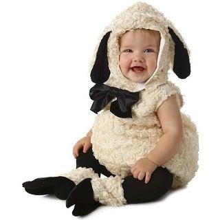 Vintage Lamb Toddler Deluxe Costume - Beige